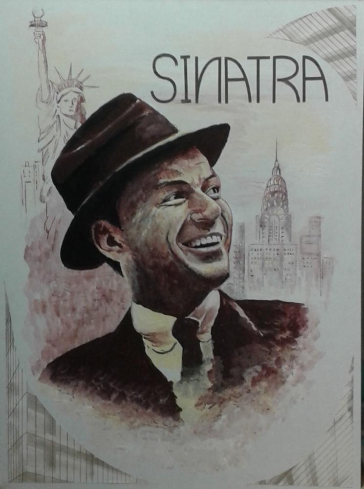 Frank Sinatra by RobertSoul